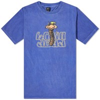 Brain Dead Wormzzz Tee Blue