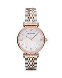 Emporio Armani Two Tone Classic Watch 32Mm