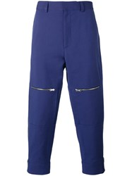 Stella Mccartney Tapered Trousers Blue