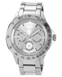 Vince Camuto Watch Women's Stainless Steel Bracelet 41Mm Vc 5007Svsv