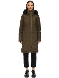 Columbia Hillsdale Down Parka Olive Green