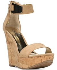 Carlos By Carlos Santana Benita Ankle Strap Platform Wedge Sandals Women's Shoes