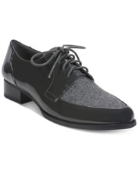 Tahari Leeza Lace Up Oxfords Women's Shoes Grey