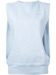 Theatre Products Slit Side Sweat Tank Blue