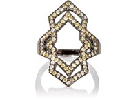 Sara Weinstock Women's Negative Space Ring White
