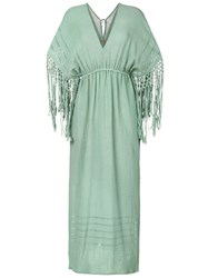 Caravana Yunuen Dress Cotton Green