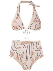 Adriana Degreas Printed Bikini Set Multicolour