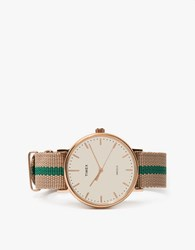 Timex Fairfield Pavilion In Rose Gold