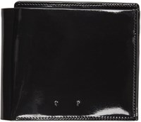 Pb 0110 Black Patent Leather Cm 18 Wallet