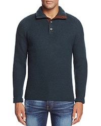 Bloomingdale's The Men's Store At Wool And Cashmere Blend Mockneck Sweater Forest Green