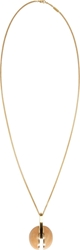 Chloe Gold Natural Stone Ellie Pendent Necklace