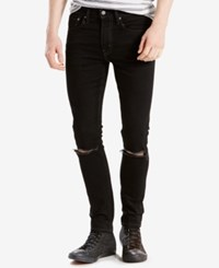 Levi's 519 Extreme Skinny Fit Ripped Jeans Rock N Roll