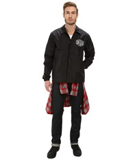 Deus Ex Machina Venice Coach Jacket Black Men's Coat