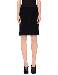 Cristinaeffe Collection Skirts Knee Length Skirts Women Dark Blue