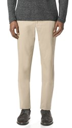 Tomorrowland Supima Cotton Slim Chinos Beige