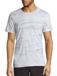 Splendid Mills Abstract Printed Tee Coal