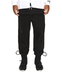 Yohji Yamamoto Grain Jersey Pants Black Men's Casual Pants