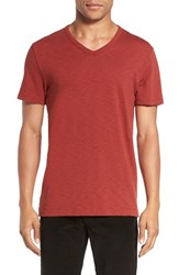 Vince Men's Slub Cotton V Neck T Shirt