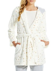 Jessica Simpson All Wrapped Robe Ivory