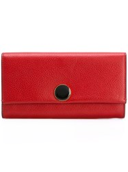 Marni Grained Wallet Red