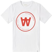 Wood Wood Aa Seal Tee White