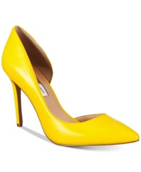 Inc International Concepts Women's Kenjay D'orsay Pumps Only At Macy's Women's Shoes Sun Yellow