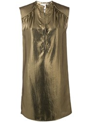 8Pm Loose Fitted Dress Metallic