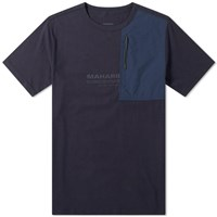 Mhi Maharishi Tech Travel Tee Blue
