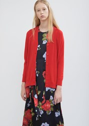 Simone Rocha Beaded Bow Cardigan Red Red Red Red