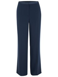 Chesca Satin Back Trousers Navy