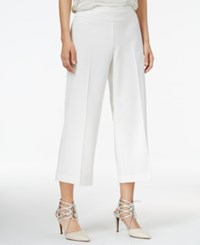 Bar Iii Wide Leg Cropped Pants Only At Macy's Egret