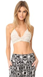 Free People Soumya Soft Bra Ivory