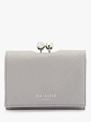 Ted Baker Suri Mini Crystal Bobble Purse Grey