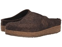 Haflinger Spirit Chocolate Women's Clog Shoes Brown