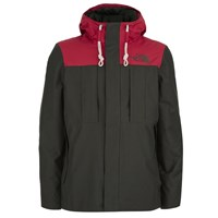 The North Face Men's Himalayan 3 In 1 Jacket Black Ink Red Black Red