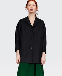 Aspesi Raincoat Pan Di Spagna Black