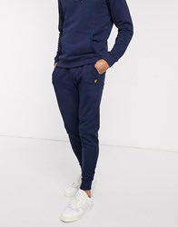 Lyle And Scott Skinny Jogger In Navy