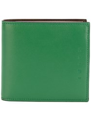 Marni Small Wallet Leather Green