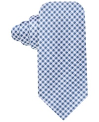 Countess Mara Prato Gingham Tie Blue