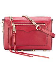Rebecca Minkoff Chain Strap Cross Body Bag Red