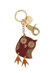 See By Chloe Owl Enameled Brass Key Holder