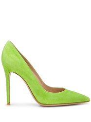 Gianvito Rossi Textured Pointed Toe Pumps 60