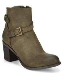 American Rag Peyton Booties Only At Macy's Women's Shoes Olive