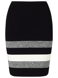 Phase Eight Aida Stripe Hem Skirt Multi