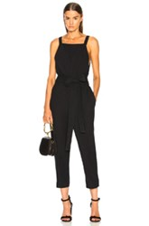 Ag Adriano Goldschmied Darcy Jumpsuit In Black