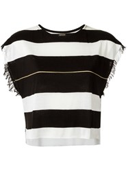 Osklen Striped Top Black