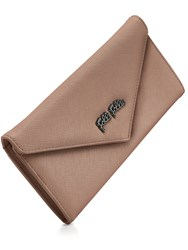 Folli Follie Saffiano Envelope Wallet Grey
