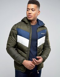 Ellesse Padded Jacket With Small Logo Green