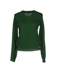 Fred Perry Sweaters Green