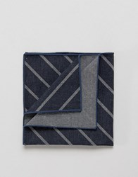Jack And Jones Jack And Jones Pocket Square Stripe Blue